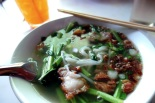 """Cow Piek"" pork noodle soup"